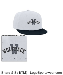 College Styled Snap Back Design Zoom