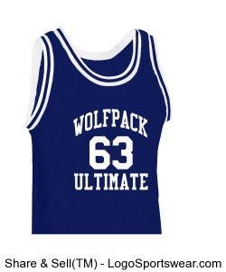 Old School Ultimate Basketball Jersey Design Zoom