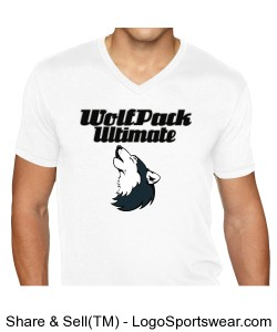 WolfPack Premium Sueded T-Shirt Design Zoom